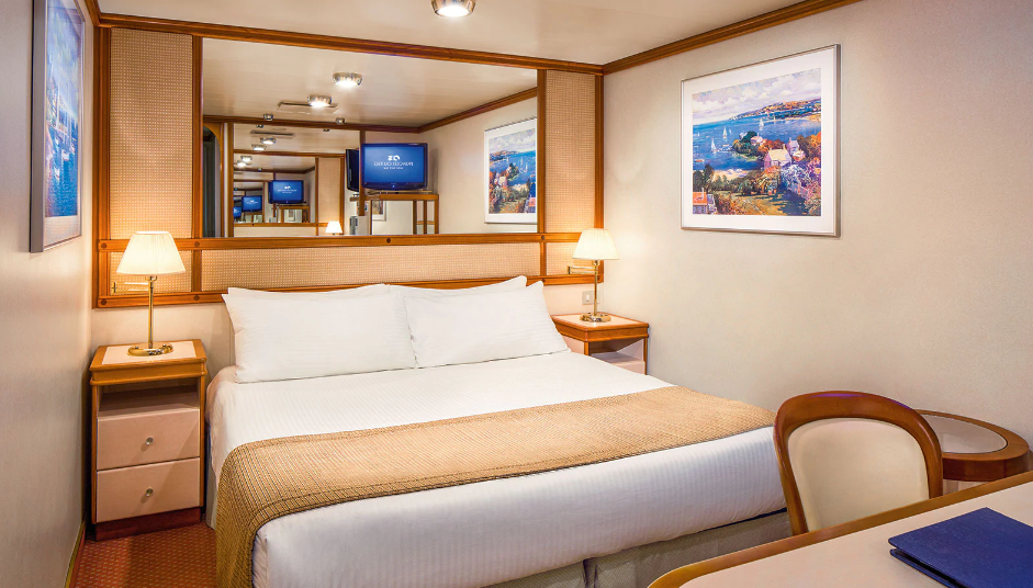 Interior Room, Diamond Princess