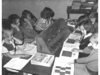 Students reading in class, Leflore County Schools. (Carl Albert Research and Studies Center, Congressional Collection / CC BY-SA (https://creativecommons.org/licenses/by-sa/4.0)