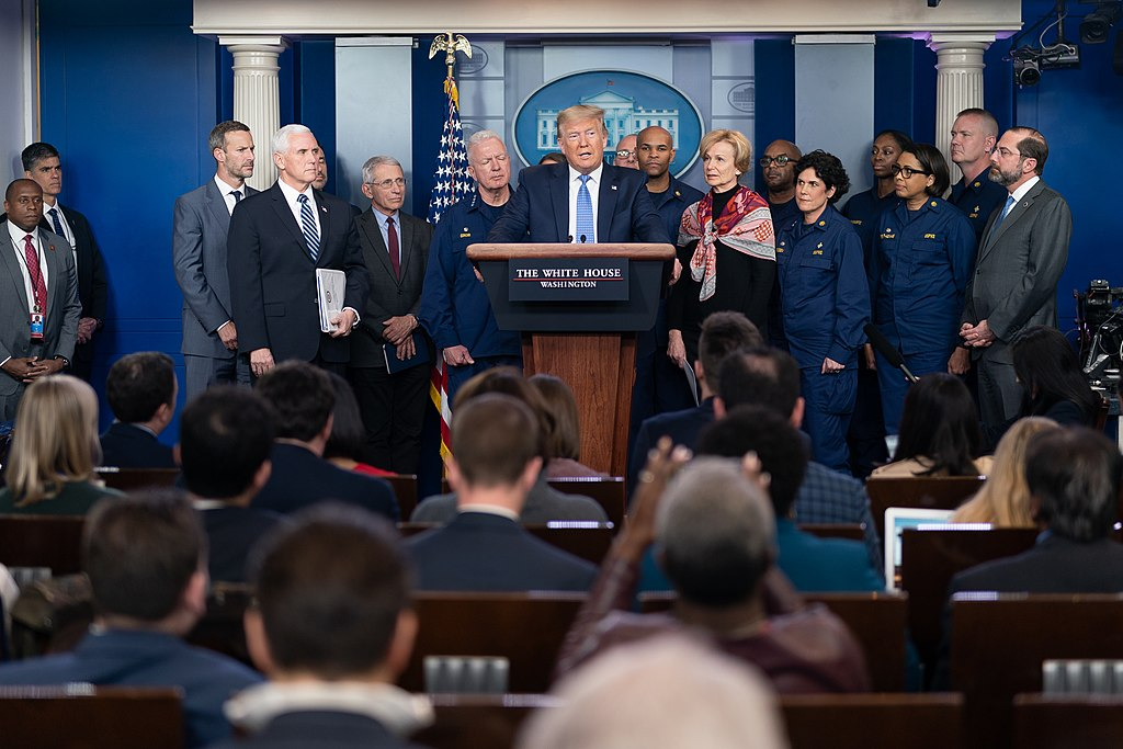 White House Coronavirus Task Froce briefing, March 15 (Official White House Photo by Andrea Hanks)