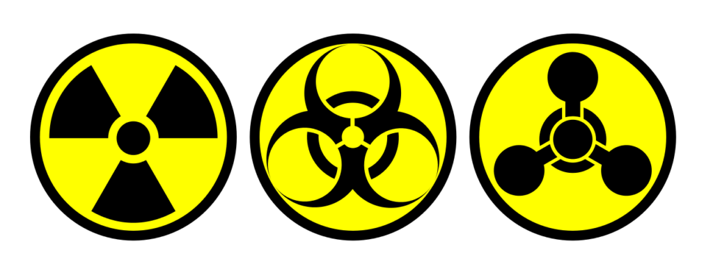 Symbols for Nuclear, Biological and Chemical WMD