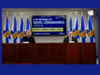 Premier Stephen McNeil and Dr. Robert Strang, COVID-19 Update, 7 April 2020