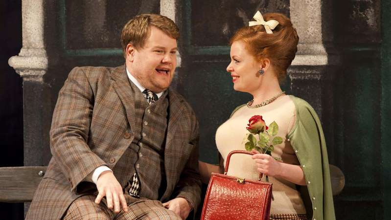 """James Corden in """"One Man Two Guvnors"""""""