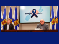 Premier Stephen McNeil and Dr. Robert Strang, NS COVID-19 Update, 28 April 2020