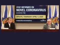 Premier Stephen McNeil and Dr. Robert Strang, COVID-19 Update, 9 April 2020
