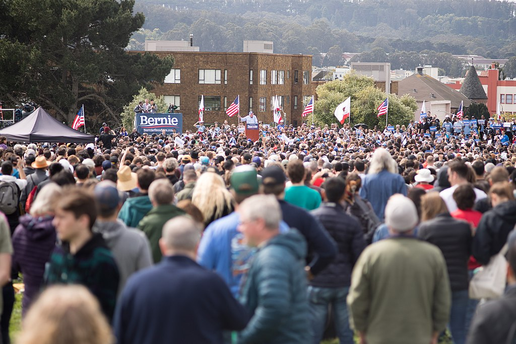 Bernie Sanders rally, San Francisco, 24 March 2019