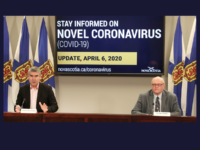 Premier Stephen McNeil and Dr. Robert Strang, COVID-19 Update 6 April 2020