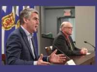 Premier Stephen McNeil and Dr. Robert Strang, daily update, 3 April 2020