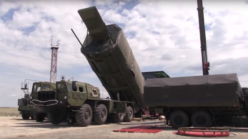 Avangard missile system.