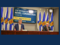 Stephen McNeil and Dr. Robert Strang, NS COVID-19 Update for 13 May 2020