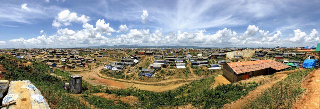 Rohingya Camps in Cox's Bazar, Bangladesh, 2018