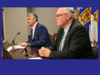 Premier Stephen McNeil and Dr. Robert Strang, NS COVID-19 Update for 29 May 2020.