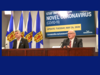 Premier Stephen McNeil and Dr. Robert Strang, NS COVID-19 Update for 26 May 2020