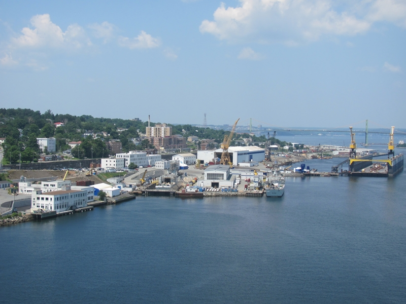 Halifax Shipyard pre-expansion, 2013. Photo byDan Conlin / CC BY (https://creativecommons.org/licenses/by/3.0)