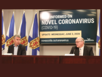 Premier Stephen McNeil and Dr. Robert Strang, NS COVID-19 Update for 3 June 2020