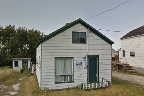 193 Brookland Street, Glace Bay (Google Street View August 2012)