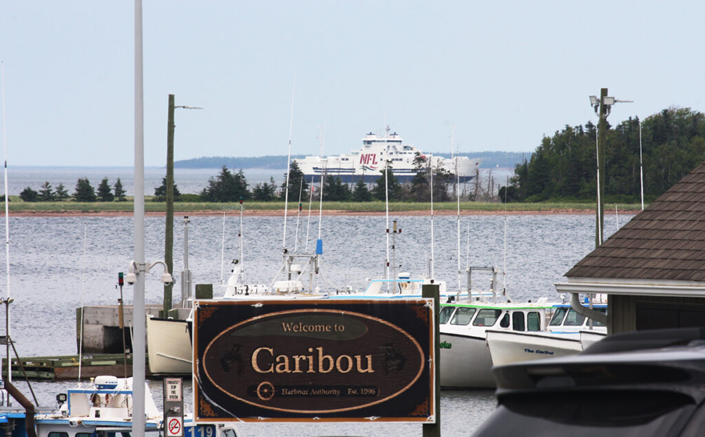 Caribou, NS, ferry terminal, 29 June 2020. (Photo by Rick Grant)