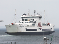 MV Confederation departing Caribou NS for Wood Islands, PEI, 26 June 2020. (Photo by Rick Grant)