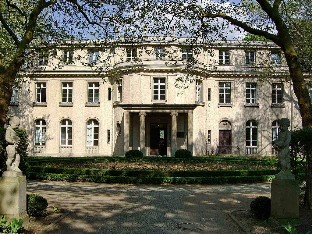 "Villa Marlier, Mansion of the ""Wannsee-Konferenz"""