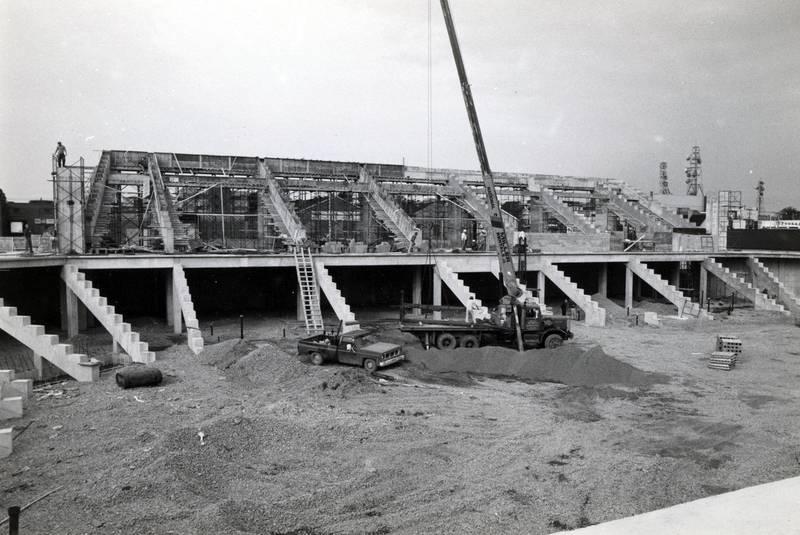 Centre 200 under construction, Sydney, NS.