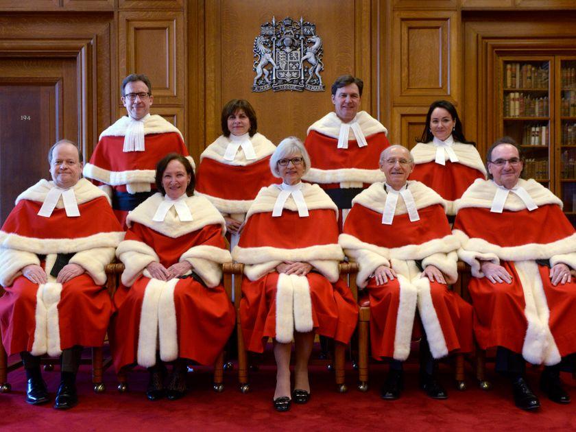 Supreme Court justices, Canada, 2015