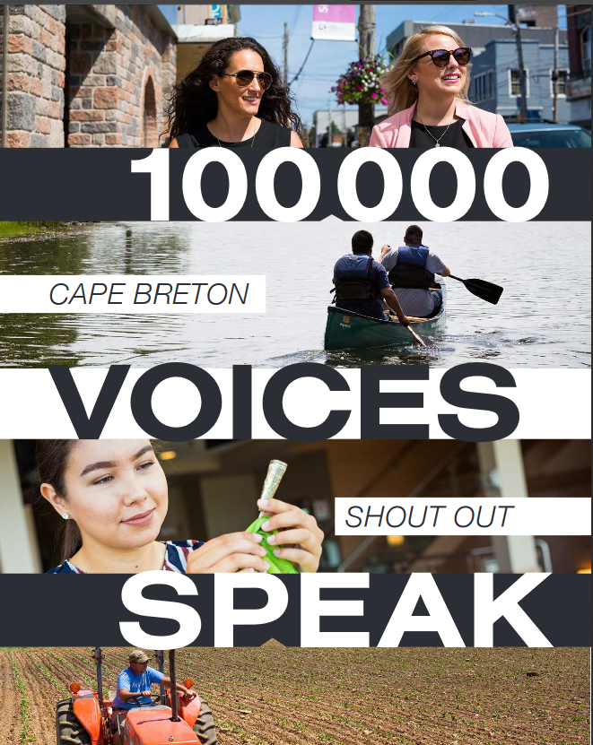 100,000 Voices Port of Sydney brochure cover