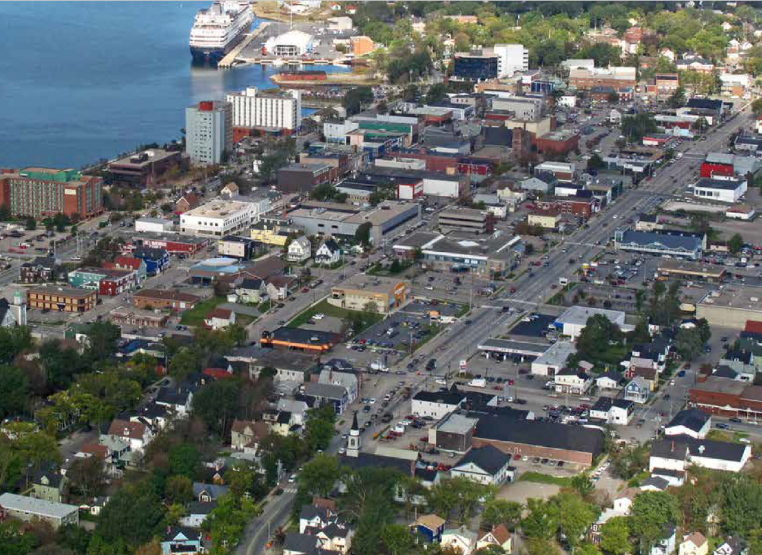 Aerial view, Sydney NS