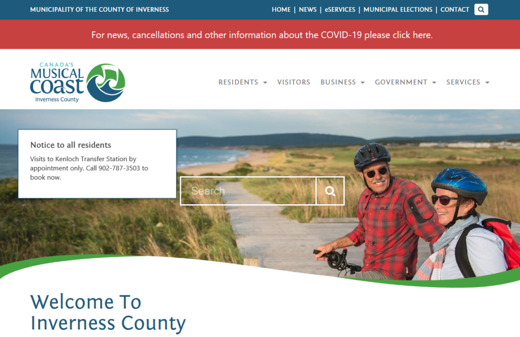 Municipality of the County of Inverness Home Page