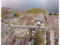 "Aerial view of Downtown Sydney NSCC Marconi Campus site. (Source: ""NSCC Marconi Campus: Sydney Relocation,"" Ekistics)"