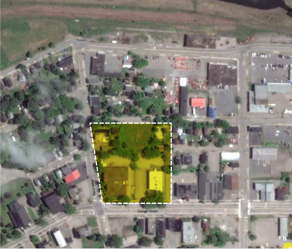 Site 4 North End aerial view