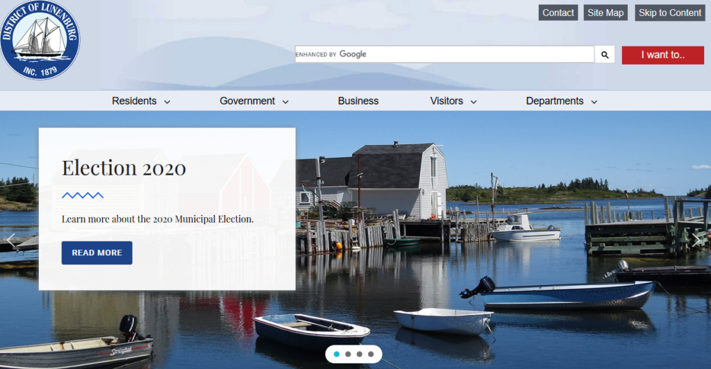 District of Lunenburg Home Page