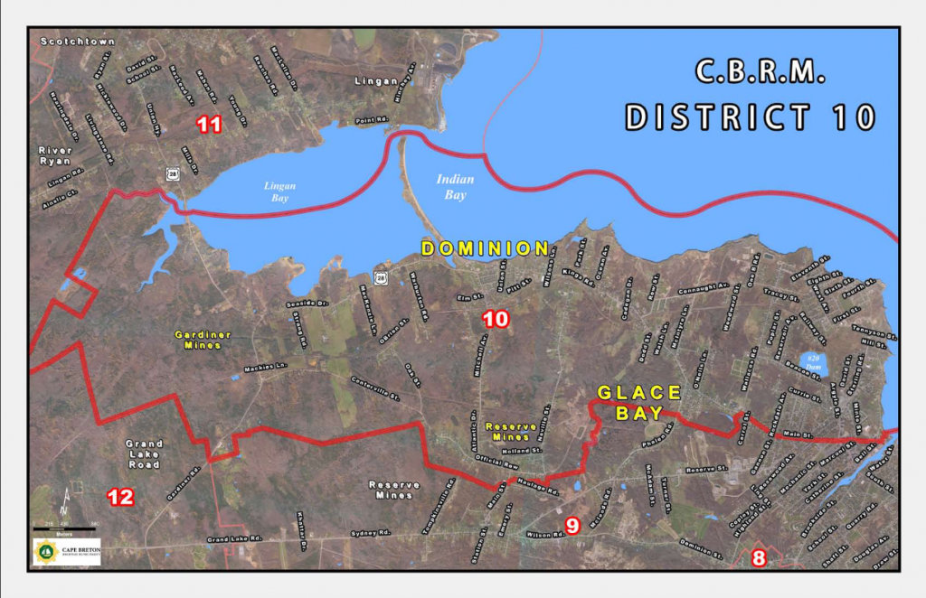 CBRM District 10 Map