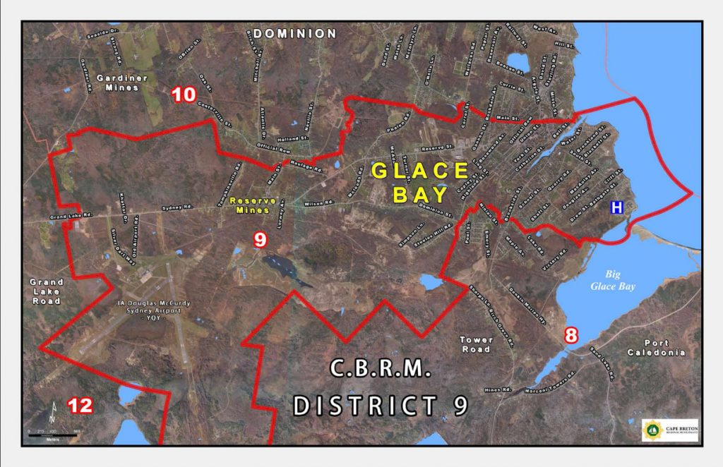 CBRM District 9 Map