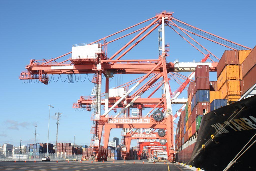 Cranes at PSA Terminal, Halifax
