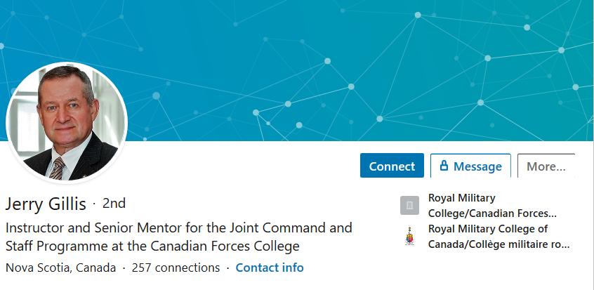 Jerry Gillis LinkedIn