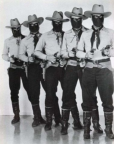 Masked cowboys