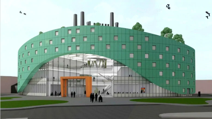 Artist's rendition CBU Discovery and Innovation Centre