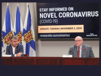 NS COVID-19 Update for 3 November 2020