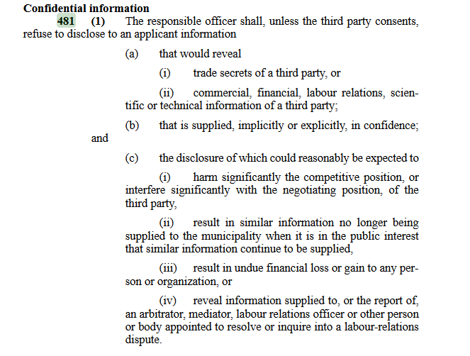 NS MGA Section 481(1)