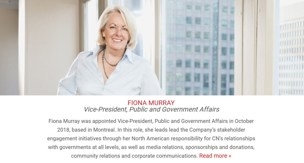 Fiona Murray photo and CN bio