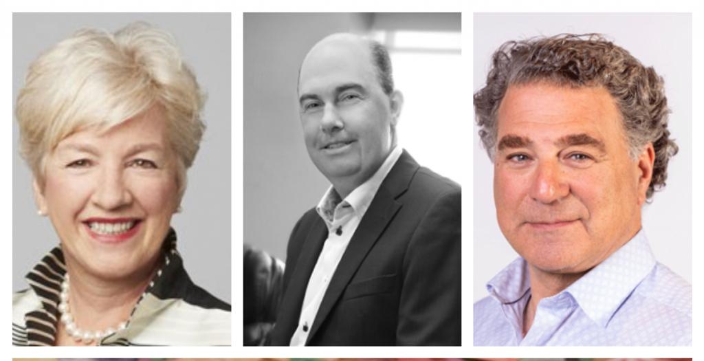 Annette Verschuren, Rodney Colbourne, Irwin Simon