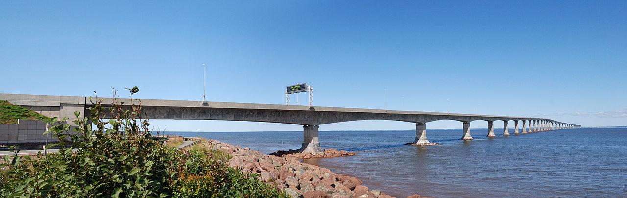 PEI's Confederation Bridge, 2008