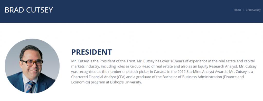 Brad Cutsey bio