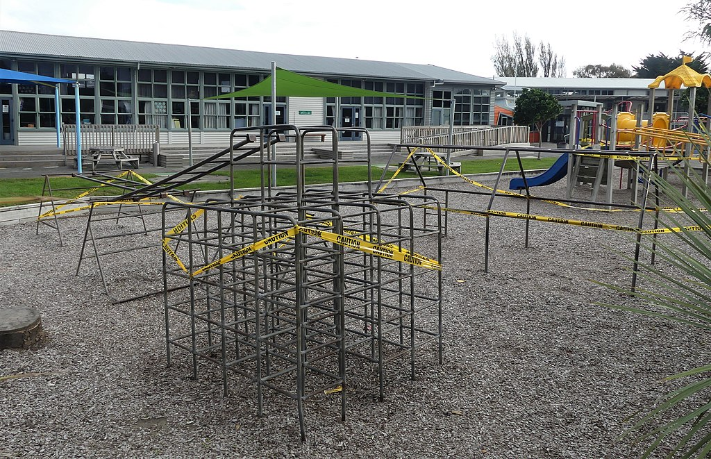 Raumati school playground closed under COVID-19 'Alert Level 3'