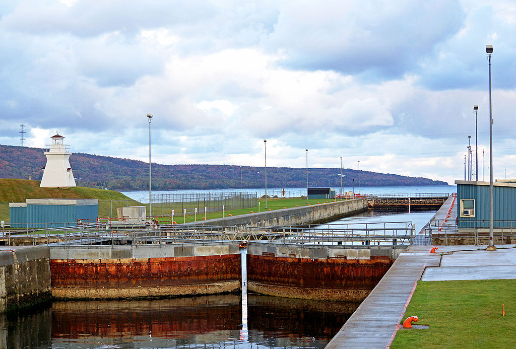 Canso Canal Lock