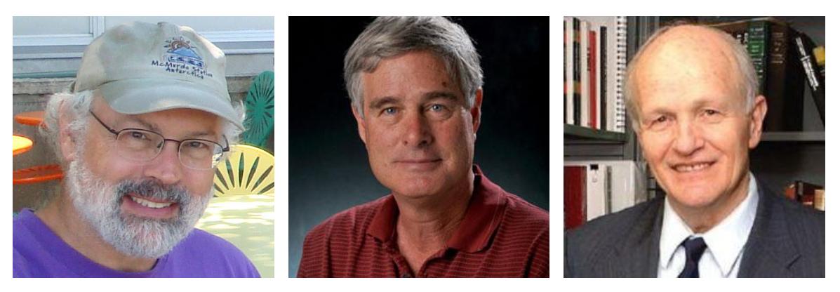 Drs Alan Robock, Brian Toon and Frank von Hippel