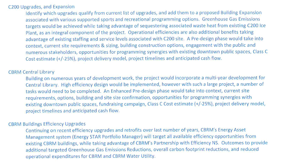 CBRM Projects