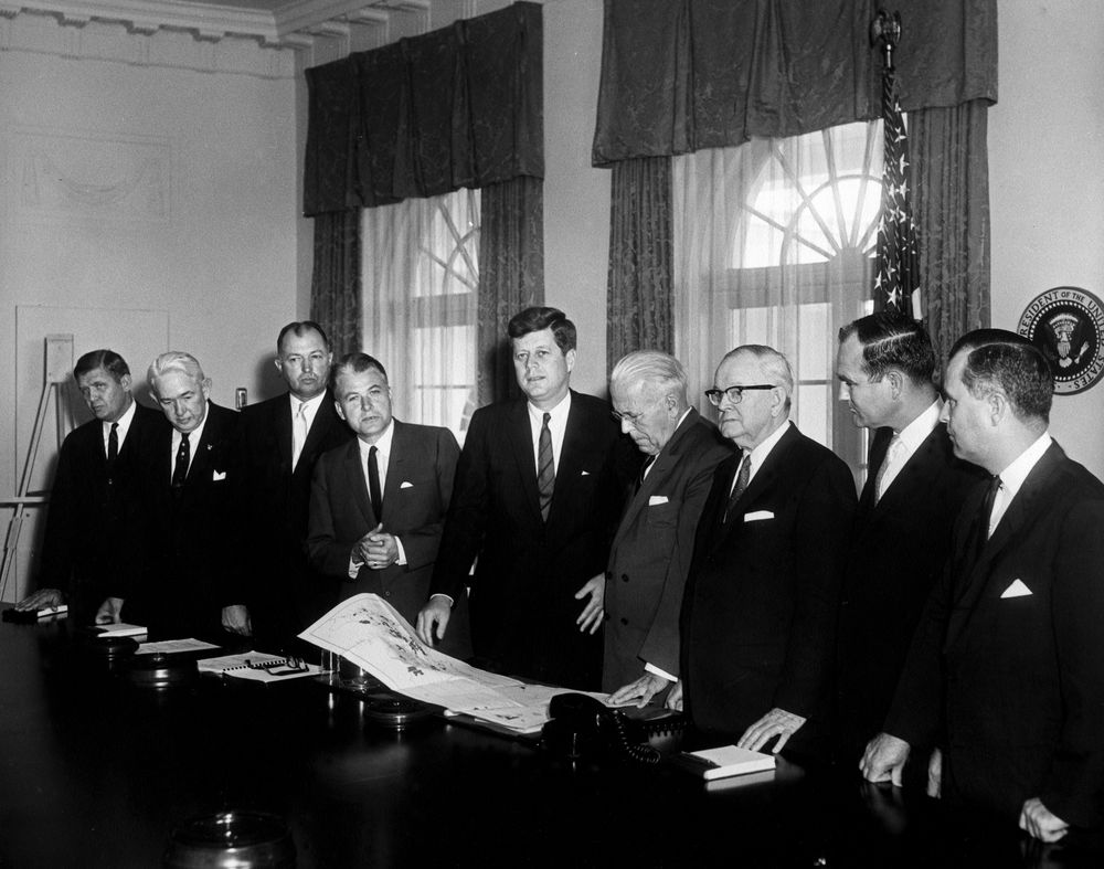 JFK meets Appalachian Governors, 1961