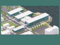 NSCC Marconi Waterfront Campus sketch