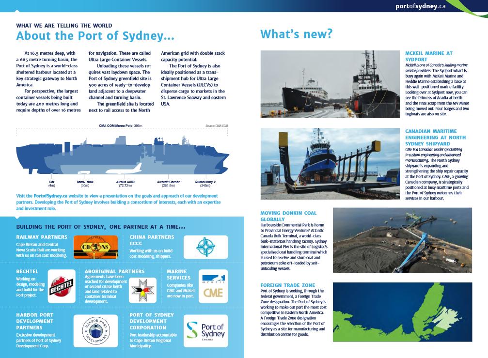 Port of Sydney Update January 2016