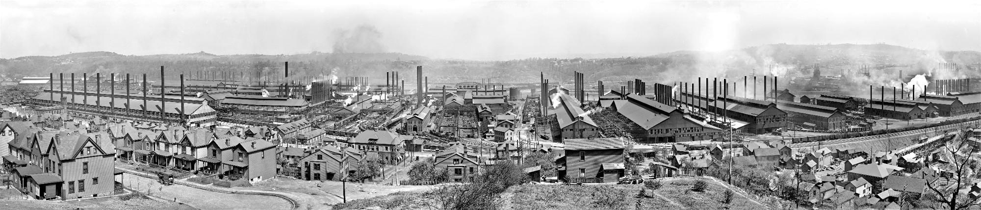 Carnegie Steel Homestead Works, 1910